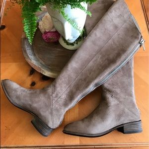 Dolce Vita over the knee troupe suede boots